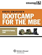 MBE Bootcamp: Constitutional Law by Steven…