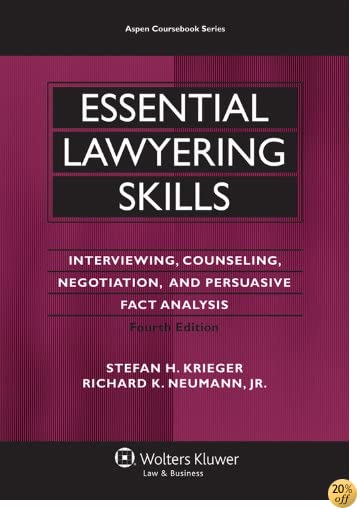 Essential Lawyering Skills, 4th Edition (Aspen Coursebooks) (Aspen Coursebook Series)