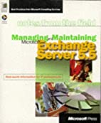 Managing and Maintaining Microsoft Exchange…