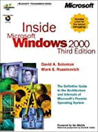 Inside Microsoft Windows 2000 by David A.…