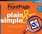 Microsoft FrontPage 2002 Plain & Simple by…