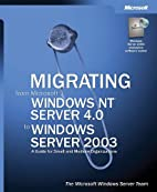 Migrating from Microsoft Windows NT Server…