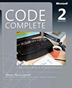 Code Complete, Second Edition by Steve…