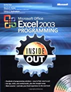 Microsoft Excel 2003 Programming Inside Out…