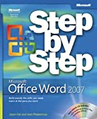 Microsoft Office Word 2007 Step by Step by…