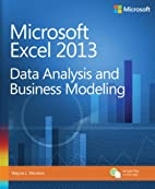 Microsoft Excel 2013 Data Analysis and…