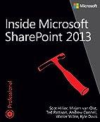 Inside Microsoft SharePoint 2013 (Developer…