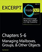 Managing Mailboxes, Groups, & Other Objects:…