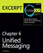 Unified Messaging: EXCERPT from Microsoft…