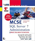Wille, Christoph: MCSE : SQL Server 7 Administration: Training Guide : Exam : 70-028 (MCSE