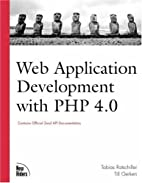Web Application Development with PHP 4.0…
