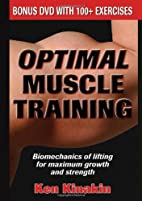 Optimal Muscle Training (Book with DVD) by…
