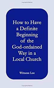 How to have a Definite Beginning of the…