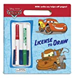 Posner-Sanchez, Andrea: License to Draw (Disney/Pixar Cars) (Write-On/Wipe-Off Activity Book)