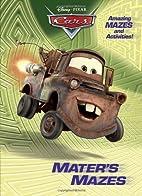 Mater's Mazes (Disney/Pixar Cars)…