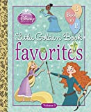 Redbank, Tennant: Disney Princess Little Golden Book Favorites: Volume 3 (Disney Princess)