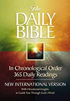 The Daily Bible: New International Version:…