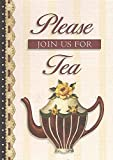 Clough, Sandy Lynam: Please Join Us for Tea (Card Invitations)