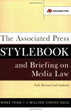 The Associated Press Stylebook and Briefing…