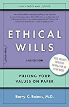Ethical Wills: Putting Your Values on Paper…