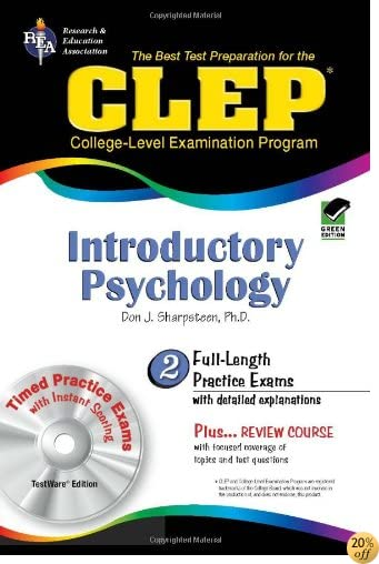 TCLEP: Introductory Psychology, TestWare Edition (Book & CD-ROM)