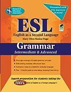 ESL Intermediate/Advanced Grammar…