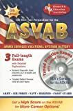 Editors of REA: ASVAB w/CD (REA)-The Best Test Prep (Military (ASVAB) Test Preparation)