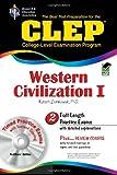 Ziomkowski, Dr. Robert M: CLEP Western Civilization I w/ CD-ROM (CLEP Test Preparation)