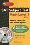 The Editors of REA: SAT Subject Test Math Level 1 w/CD-ROM (SAT PSAT ACT (College Admission) Prep)