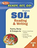 Research and Education Association: Ready, Set, Go! Sol (Rea) - English, 8th Grade