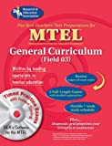 Editors of REA: MTEL General Curriculum w.CD-ROM (REA) - The Best Test Prep (MTEL Teacher Certification Test Prep)