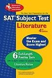 Alvarez Ph.D., Joseph: SAT Literature Subject Test (SAT PSAT ACT (College Admission) Prep)