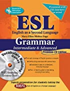 ESL Intermediate/Advanced Grammar…
