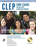 Marullo, Dominic: CLEP Core Exams w/ CD-ROM (CLEP Test Preparation)