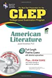 Stratman, Jacob: CLEP American Literature w/ CD-ROM (CLEP Test Preparation)