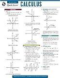 Editors of REA: Calculus - REA's Quick Access Reference Chart (Quick Access Reference Charts)