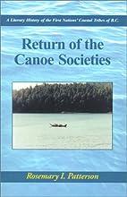 Return of the Canoe Societies: A Literary…