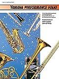 Erickson: Yamaha Performance Folio: E-Flat Alto Clarinet (Yamaha Band Method)