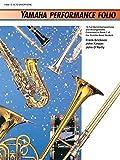 Erickson: Yamaha Performance Folio: E-Flat Alto Saxophone (Yamaha Band Method)