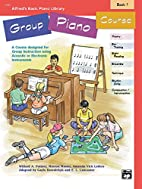 Alfred's Basic Piano Library Group Piano…