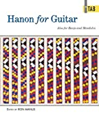 Hanon for Guitar in Tab by Ron Manus