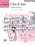 Debussy, Claude: Clair de lune (from Suite Bergamasque) (Sheet) (Simply Classics Solos)