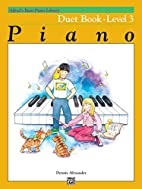 Alfred's Basic Piano Course Duet Book,…