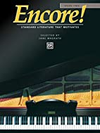 Encore!, Book 2 (Alfred Masterwork Edition)…