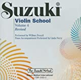 Suzuki, Shinichi: Suzuki Violin School, Vol. 4 (The Suzuki Method Core Materials)