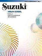 Suzuki Violin School, Volume 4: Piano…