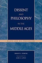 Dissent and Philosophy in the Middle Ages :…