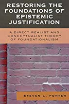 Restoring the Foundations of Epistemic…