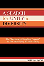 A Search for Unity in Diversity: The…