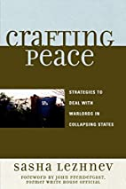 Crafting Peace: Strategies to Deal with…